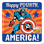 Captain America 4th of July Stickers
