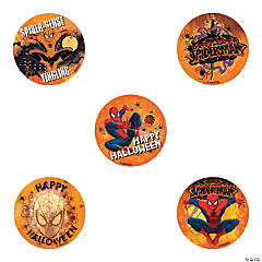 Spiderman Halloween Stickers
