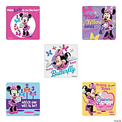 Minnie Mouse Bow-Tique Stickers