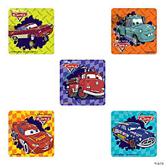 Disney Cars Glitter Stickers