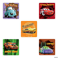 Disney Cars Supercharged Stickers