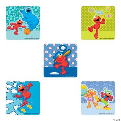 Silly Elmo Stickers