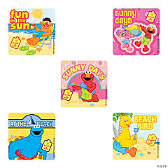 Scented Sesame Street Beach Stickers