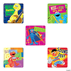 Sesame Street Music Stickers