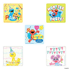 Sesame Street Birthday Stickers