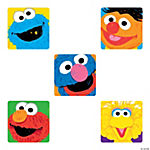 Sesame Street Faces Stickers