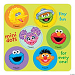 Sesame Street Mini Dot Stickers