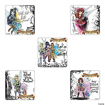 Tinker Bell Pirate Fairy Stickers Oriental Trading