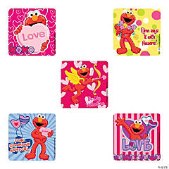 Elmo Valentine Stickers