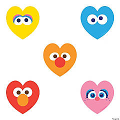 Sesame Street: Heart Stickers
