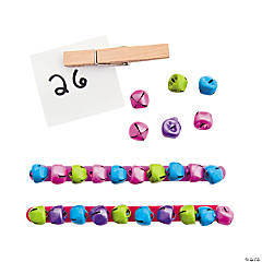 Jingle Bell Base 10 Counting Activity Idea