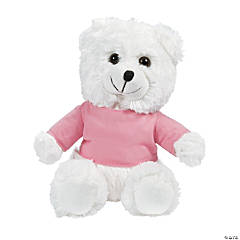 Personalized Plush Flower Girl Bear with T-Shirt