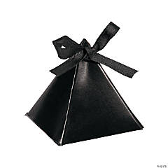 Black Triangle Favor Boxes