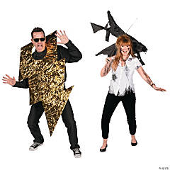 DIY Struck by Lightning Couples Costumes Idea