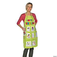 Flash Card Apron