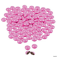 Hot Pink Candy-Coated Chocolates