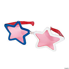 Jumbo Patriotic Star Sunglasses