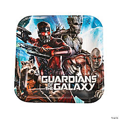 Guardians of the Galaxy Dinner Plates