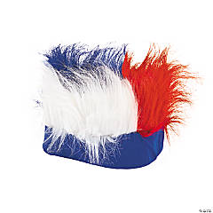 Red, White & Blue Crazy Hair Headband