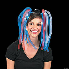 Patriotic Light-Up Noodle Headband