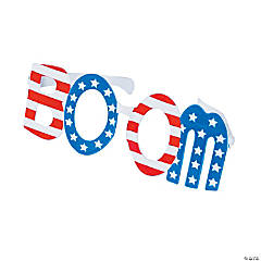 Jumbo Patriotic Boom Glasses