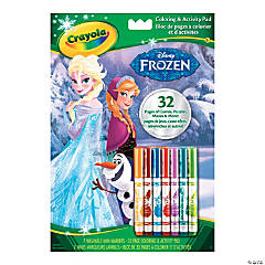 Crayola Disney's Frozen Coloring & Activity Pad