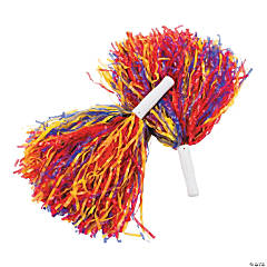 Autism Awareness Pom-Poms