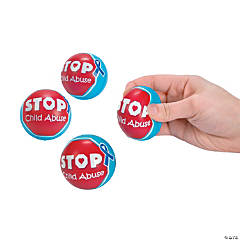 Child Abuse Awareness Stress Balls