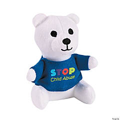 Plush Prevent Child Abuse Bears