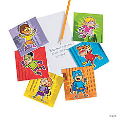 Superhero Notepads