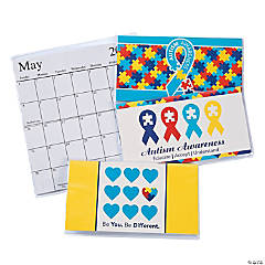 2016 - 2017 Autism Awareness Pocket Planners