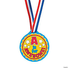 A Is For Awesome Award Medals