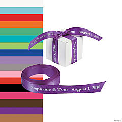 Satin Personalized Ribbon - 5/8