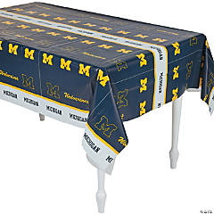 NCAA® University of Michigan Tablecloth