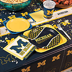 NCAA® University of Michigan Basic Party Pack