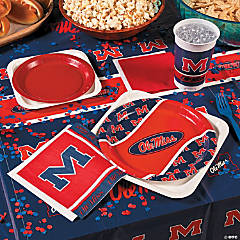 NCAA® Mississippi Basic Party Pack