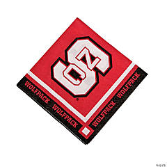 NCAA™ North Carolina State® Beverage Napkins