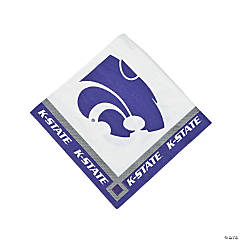 NCAA™ Kansas State Beverage Napkins