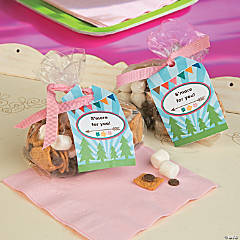 Glamping Favor Tag Printable Idea