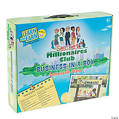 Secret Millionaire Club® Business-In-A-Box Lemonade Stand