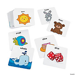 Rhyming Pocket Dice Card Set