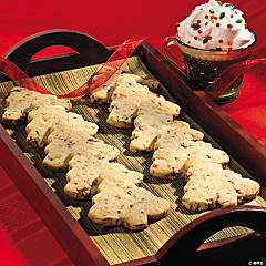 Cran-Pistachio Christmas Tree Cookie Recipe