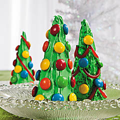 Christmas Tree Cones Recipe