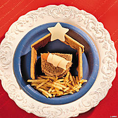 Nativity Scene Christmas Snack Recipe