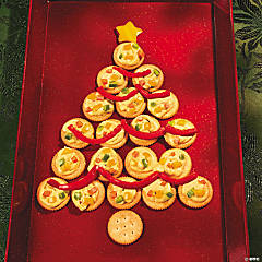 Christmas Tree Cracker Tray Recipe