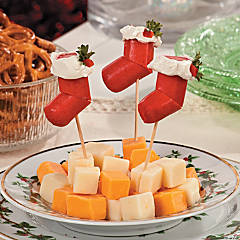 Hot Dog Stocking Christmas Appetizers Recipe