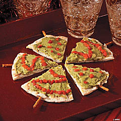 Pita Christmas Tree Appetizers Recipe