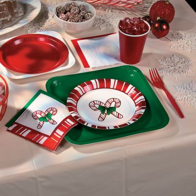 Candy cane Christmas party theme
