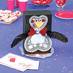 Penguin Valentine Box Idea