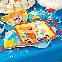 1st Birthday Bear Basic Party Pack